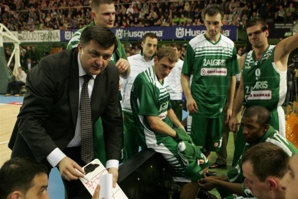 """Eurolyga: """"Žalgiris"""" – """"Asseco Prokom"""" 74:68 (po pratęsimo)"""