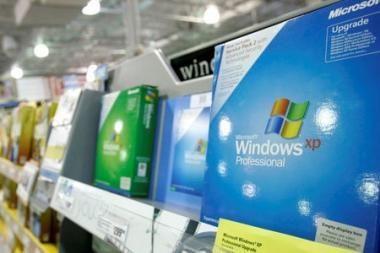 """""""Windows XP"""" operacinė sistema – populiariausia"""