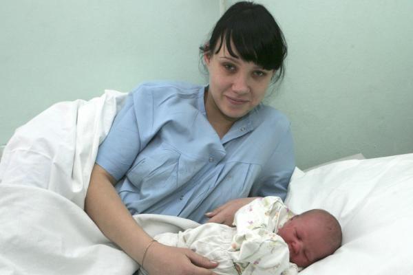 Pirmieji 2010-ųjų kūdikiai Kaune gimė iškart po vidurnakčio (papildyta)