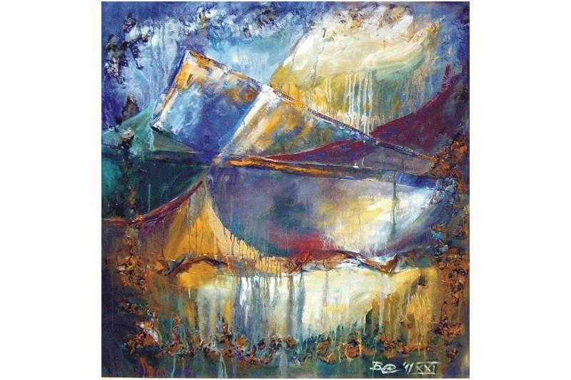 Klaipėdietės tapytojos parodą įkvėpė kalnai