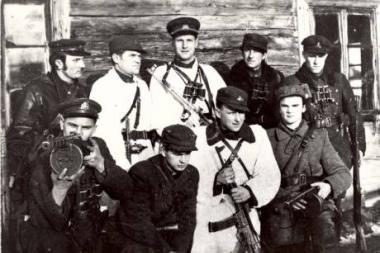 Partizanų vadovams suteiktas signatarų vardas