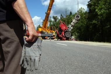 Joniškio rajone per avariją žuvo trys žmonės