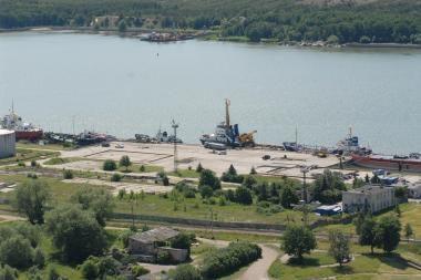 Uostui skirta teritorija Keleivių terminalo infrastruktūrai kurti