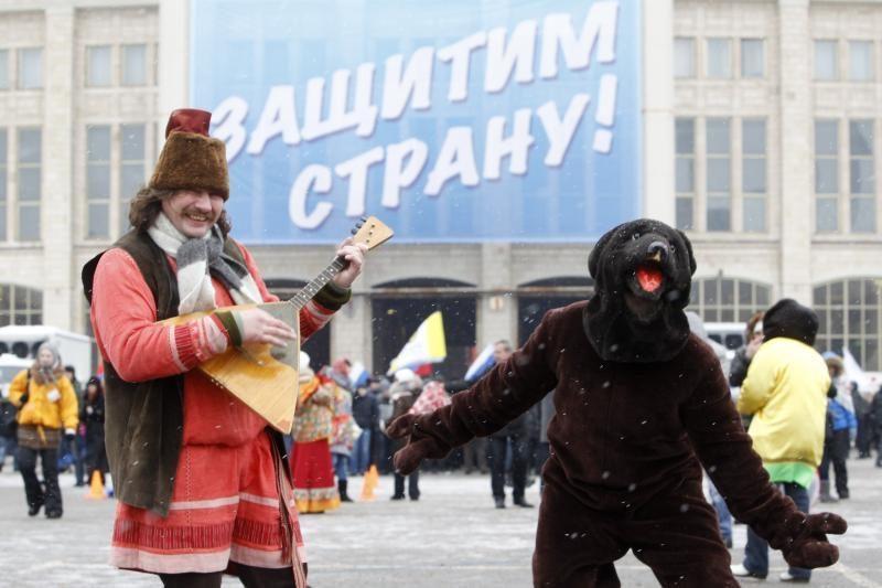 Maskvoje mitingavo apie 140 tūkst. žmonių