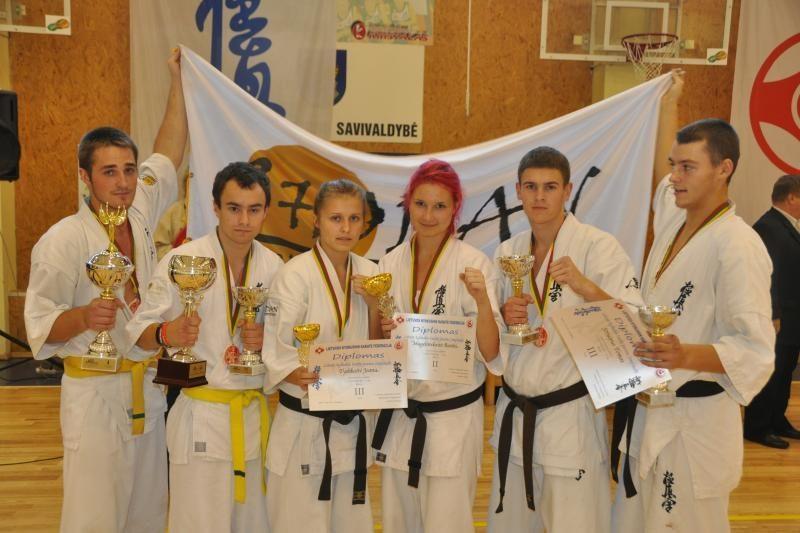Iš Lietuvos čempionato – su septyniais medaliais