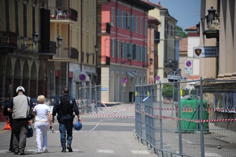 Italijos šiaurėje per naują žemės drebėjimą žuvo dešimt žmonių