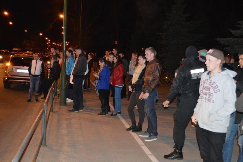 Nakties lenktynės Klaipėdoje baigėsi dviejų jaunuolių žūtimi (foto)