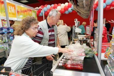 Dauguma maisto produktų birželį atpigo