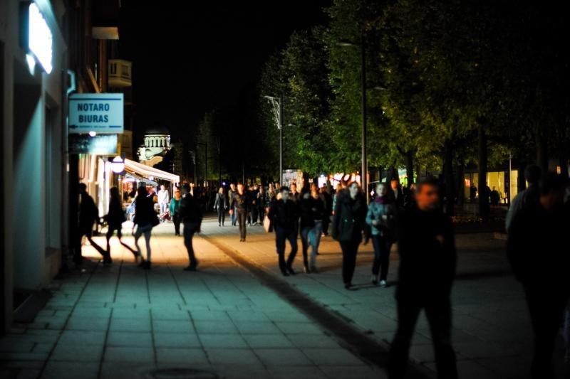 """Miestas pulsavo """"Kauno naktų""""     ritmu"""
