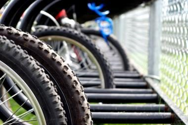 Uostamiestyje apvogta dviračių parduotuvė