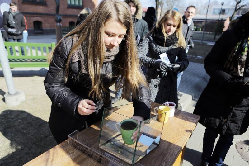 Žemės dieną Klaipėdoje šventė jaunoji karta