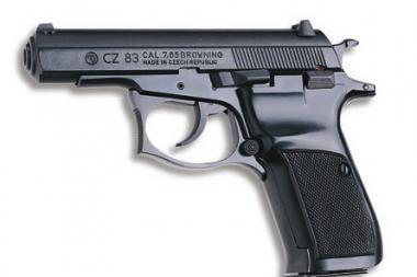 Iš klaipėdiečio pavogtas pistoletas