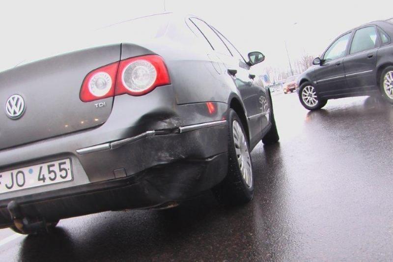 """Klaipėdoje avariją sukėlęs vairuotojas """"įpūtė"""" 2,91 promiles"""