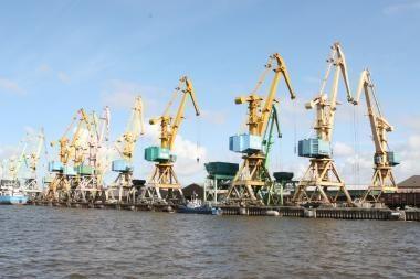 Klaipėdos uoste sumažėjo krova