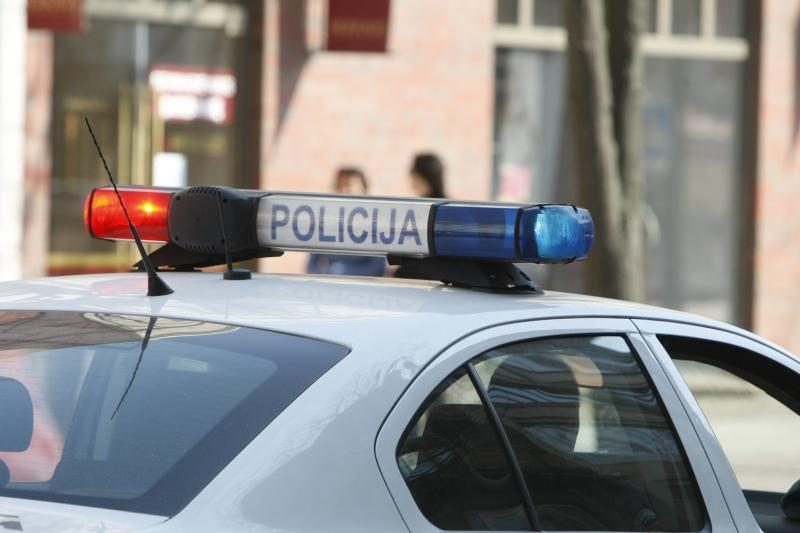 Pavogtą mašiną Klaipėdos policija rado per pusdienį