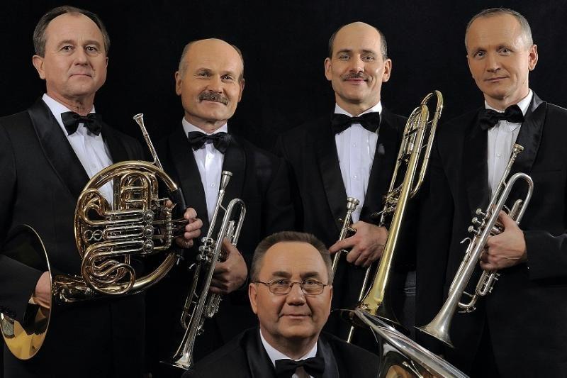 Klaipėdos brass kvintetas ruošia sidabrinę vario fiestą