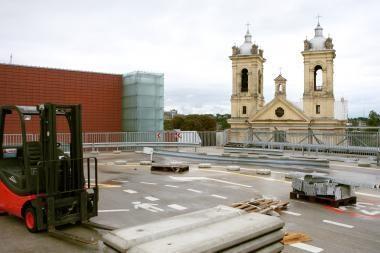 Tamsoje skendinčios Kauno bažnyčios bus apšviestos