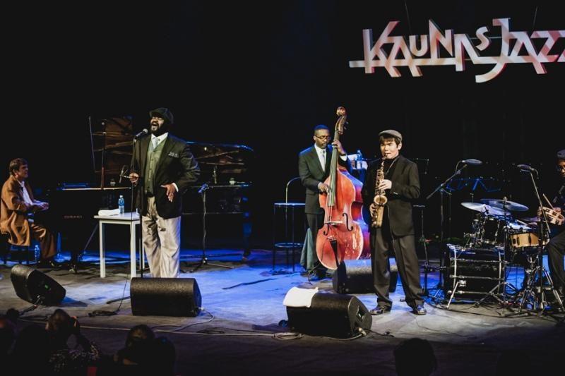 """Kaunas gyvena """"Kaunas Jazz""""        ritmu"""