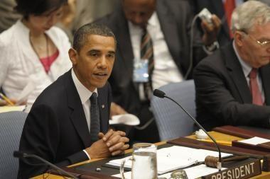B.Obama propaguoja pasaulio be branduolinių ginklų idėją