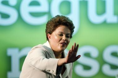 Pirmąkart moterį prezidente išsirinkusi Brazilija žengia į naują epochą