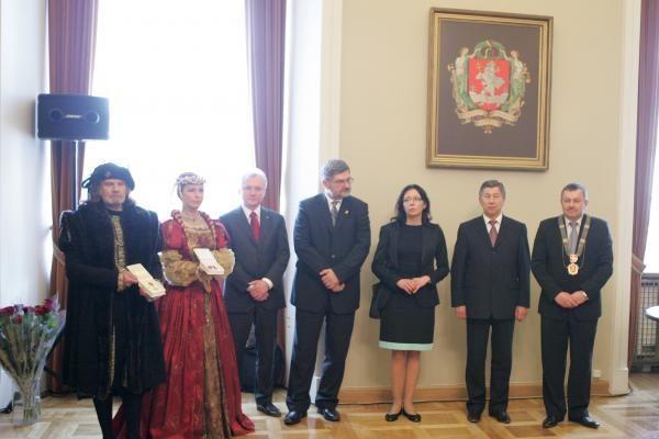 Vilniaus menininkai apdovanoti aukso ir sidabro medaliais