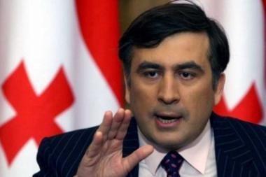 M.Saakašvilis: Gruzijai reikia stipraus prezidento