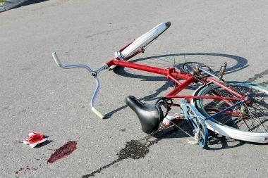 Klaipėdoje mašina partrenkė dviratininką