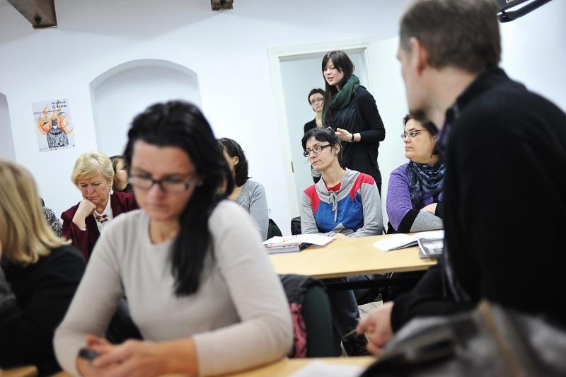 Filmavimo aikštelėje pluša Kauno pedagogai