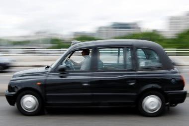 Juodiesiems Londono taksi - juodos dienos