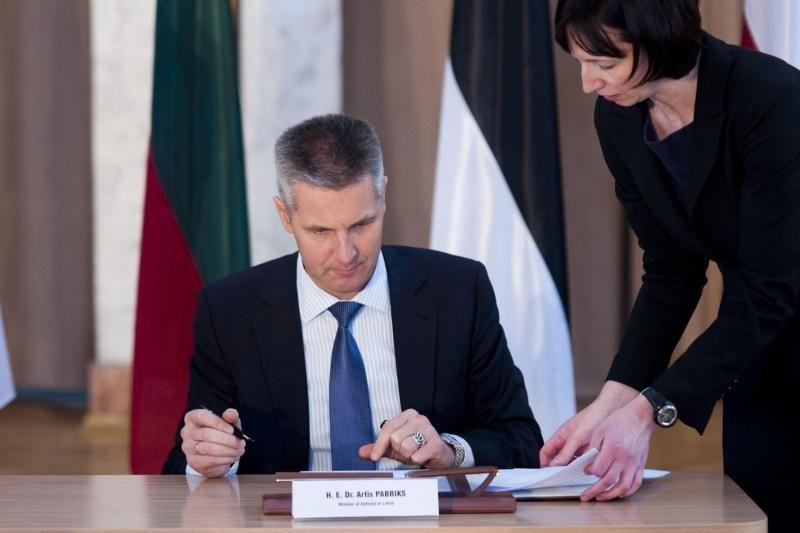 Baltijos šalių ministrai Kaune tarėsi dėl karinio bendradarbiavimo
