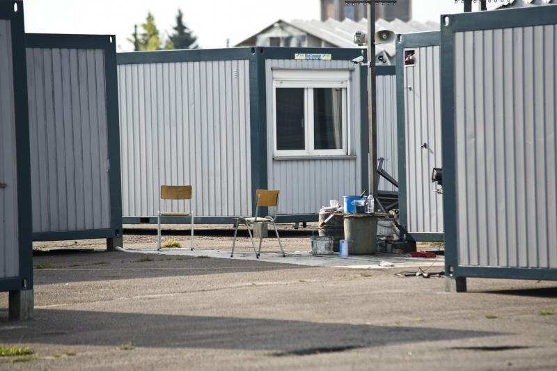 Aleksoto aerodrome ispanai filmuos pabėgėlių stovyklą