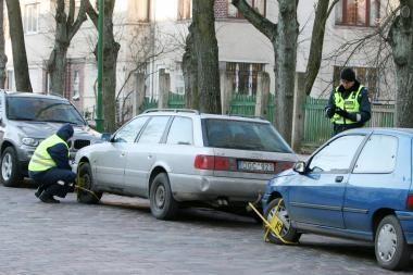 Rinkliava už mašinų stovėjimą išlieka