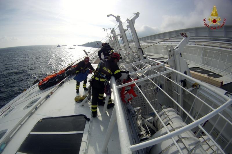 Su kruizinio laivo kapitonu siejama moteris teisina jo veiksmus