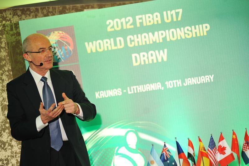 Jauniai sužinojo varžovus pasaulio krepšinio čempionate