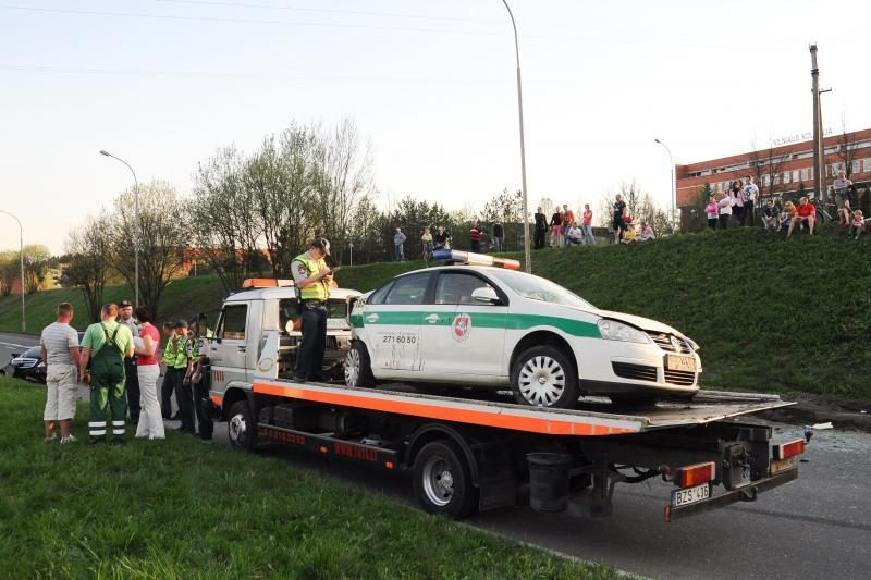 Avarijos sukėlimu įtariamas S.Proninos žentas suimtas 20 parų