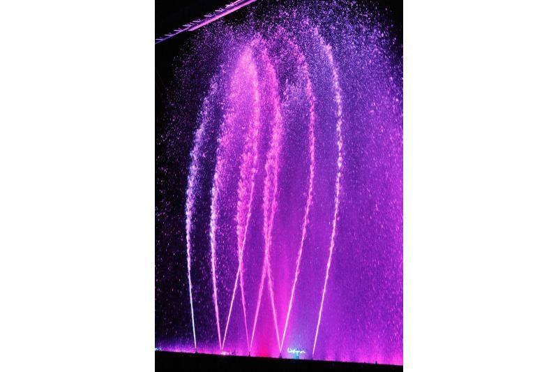 Pasaulinei limfomos dienai – įspūdingas fontanų šou