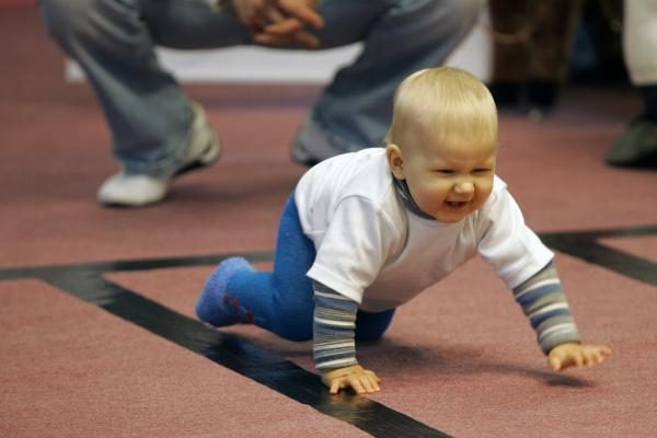 Azartiškos mažylių lenktynės
