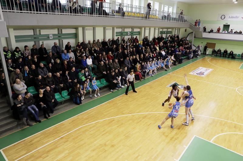 """LMKL pusfinalyje lygu: """"Hoptrans-Sirenos"""" atsirevanšavo """"Fortūnai"""""""