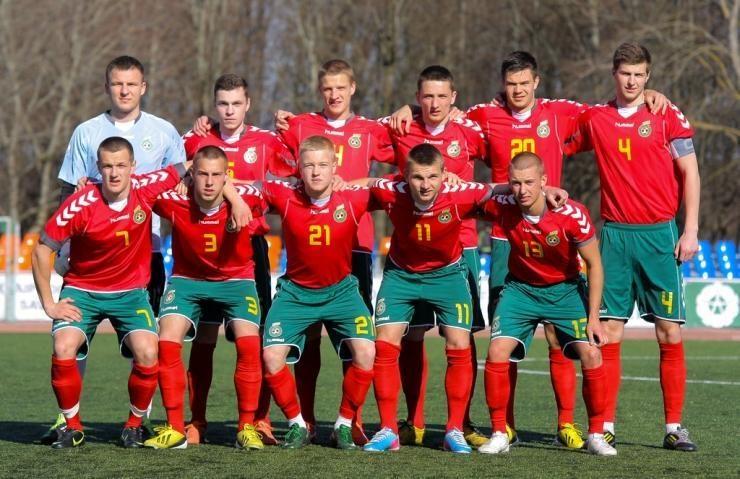 Europos futbolo čempionatas Lietuvoje: žaidėjai kupini ryžto