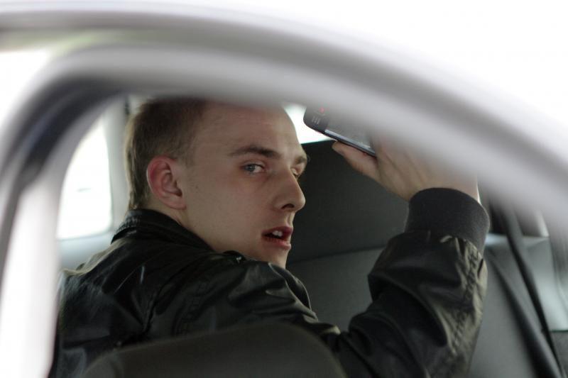 Klaipėdos centre girto vairuotojo gaudynės