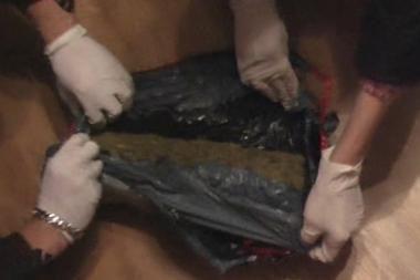 Klaipėdoje užtvenktas narkotikų kanalas