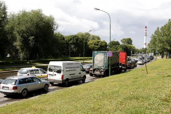 Klaipėdoje į avariją pateko keturios mašinos