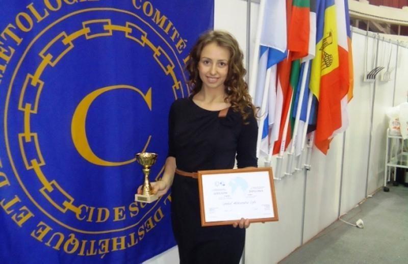 "Klaipėdietė studentė A.E.Cymbal – ""Nevskije Berega"" konkurso laureatė"