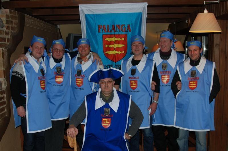 Palangoje – Stintų ordino riterių inauguracija