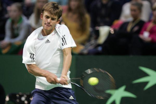 L.Grigelis - ITF serijos teniso turnyro Italijoje ketvirtfinalyje