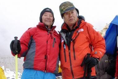 Senolis alpinistas siekia atgauti prarastą titulą