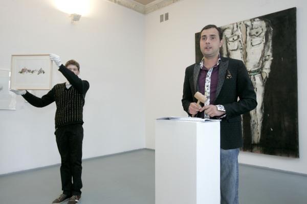 Tarp šiuolaikinio meno aukciono pirkėjų - Vilniaus meras