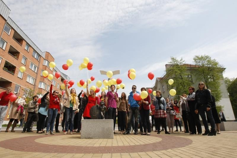 Klaipėdai – žaisminga universiteto bendruomenės dovana