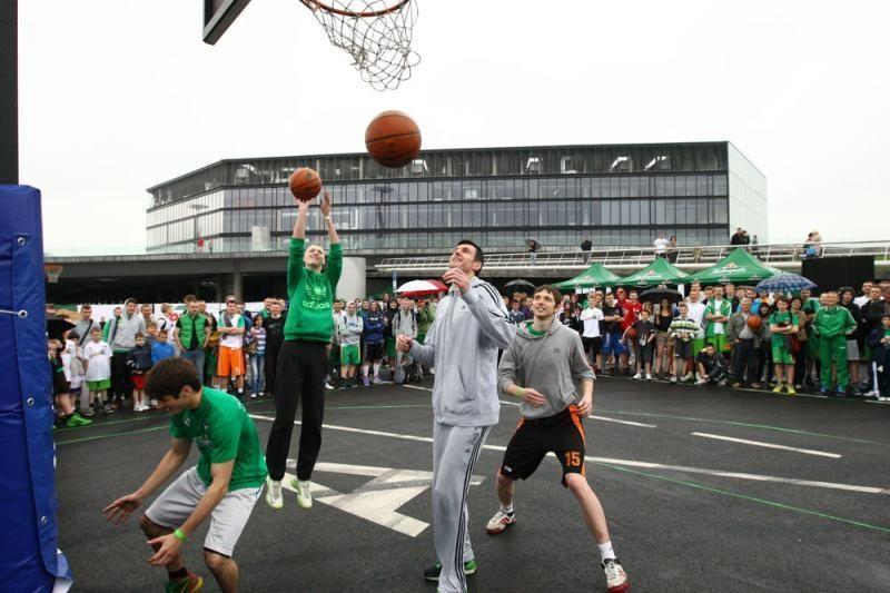 """Naujieji LKL čempionai šėliojo """"Žalgirio"""" 3 prieš 3 turnyre"""