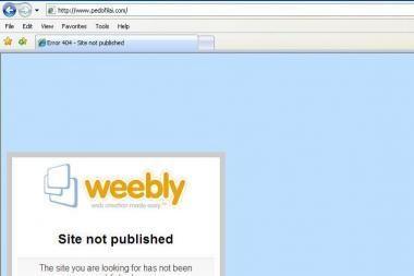 D.Kedžio tinklapis pedofilai.com uždarytas (papildyta)